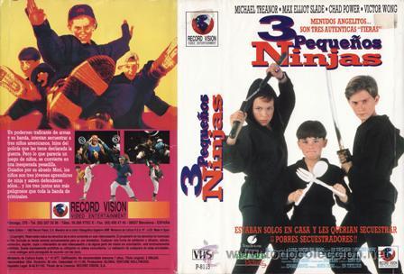 La película 3 pequeños ninjas
