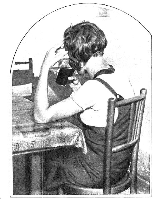 Una de las pocas mujeres que permitió ser fotografiada por la revista  Estampa .