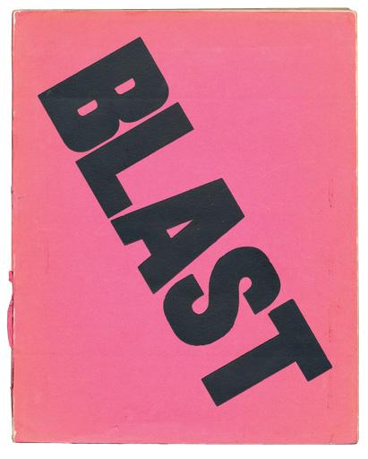 Cubierta original de Blast (julio, 1914)