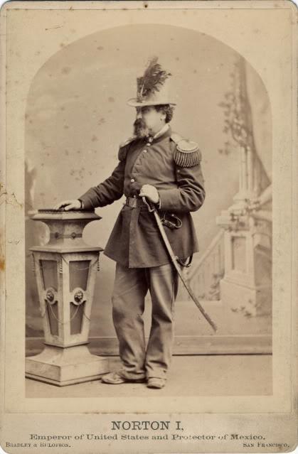 Retrato de Norton I con su uniforme de Emperador