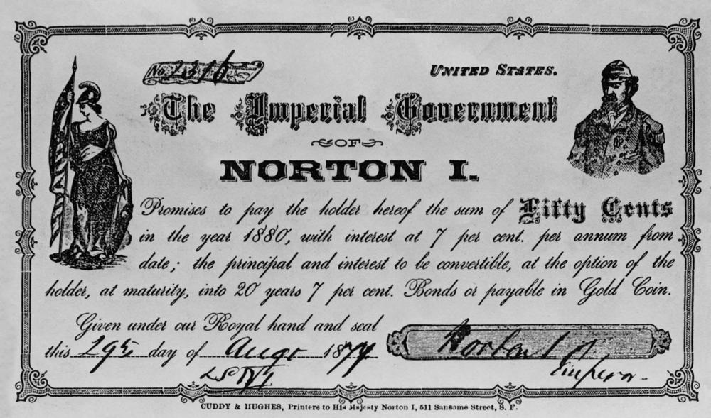 Dinero expedido por Norton I