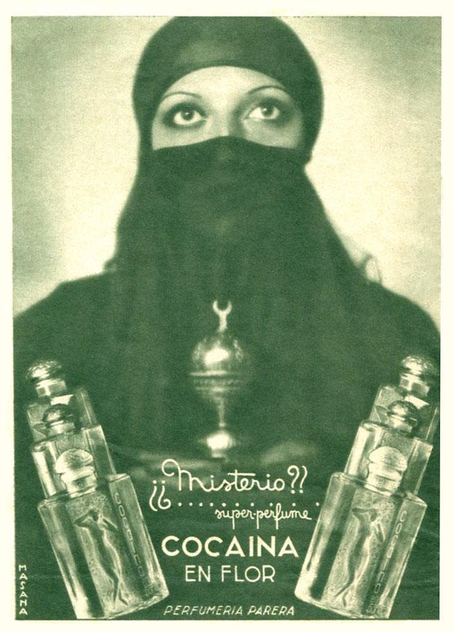 La célebre «Cocaína en flor», anuncio de la época