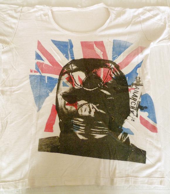 La camiseta original del violador de Cambridge
