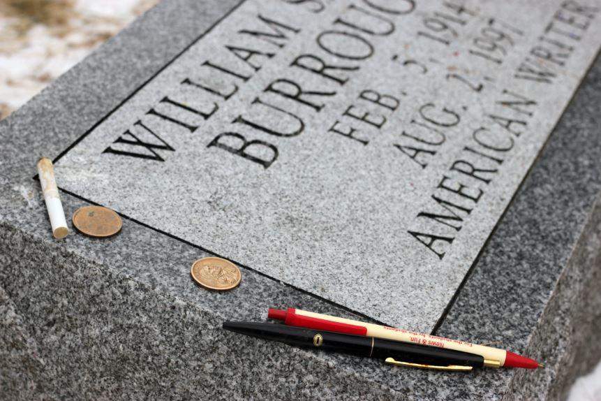 Lápida de Burroughs