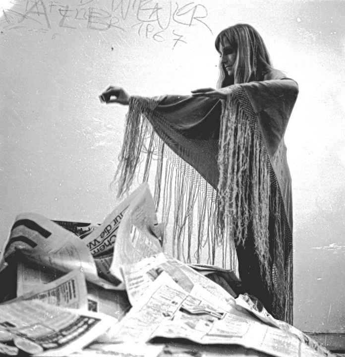Ensslin en una fotografía de 1967