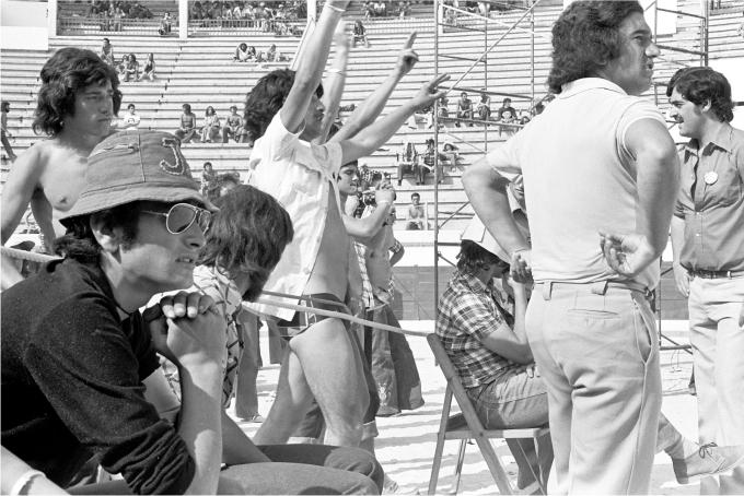 Fans durante el festival. Fotografía de Pep Rigol