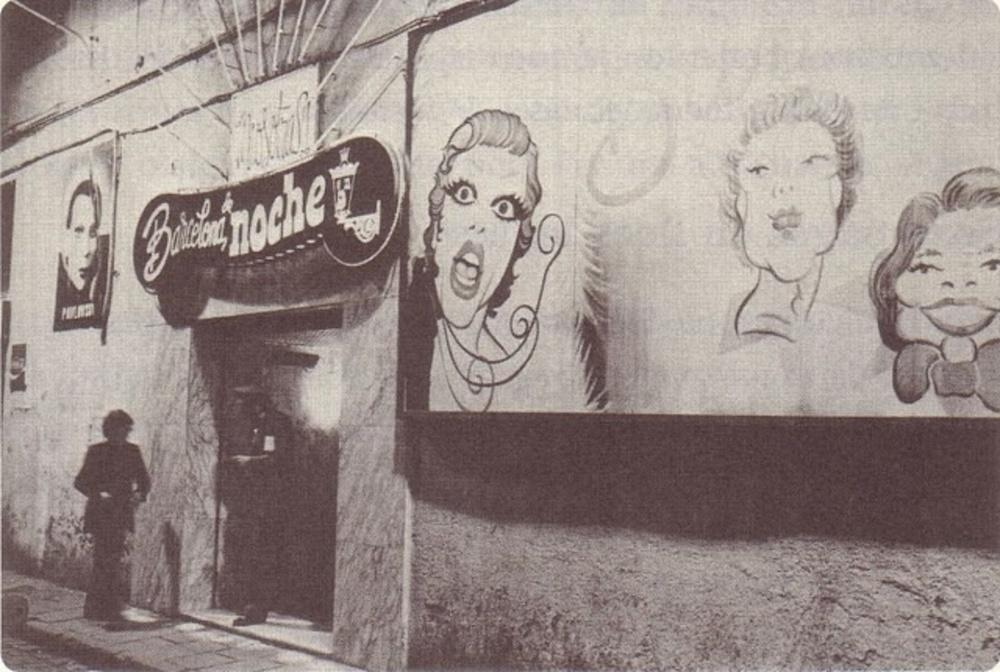 El cabaret Barcelona de Noche, uno de los lugares más célebres frecuentado por las «vírgenes locas»