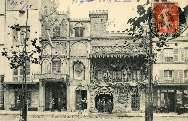 Fachada del Cabaret du Néant