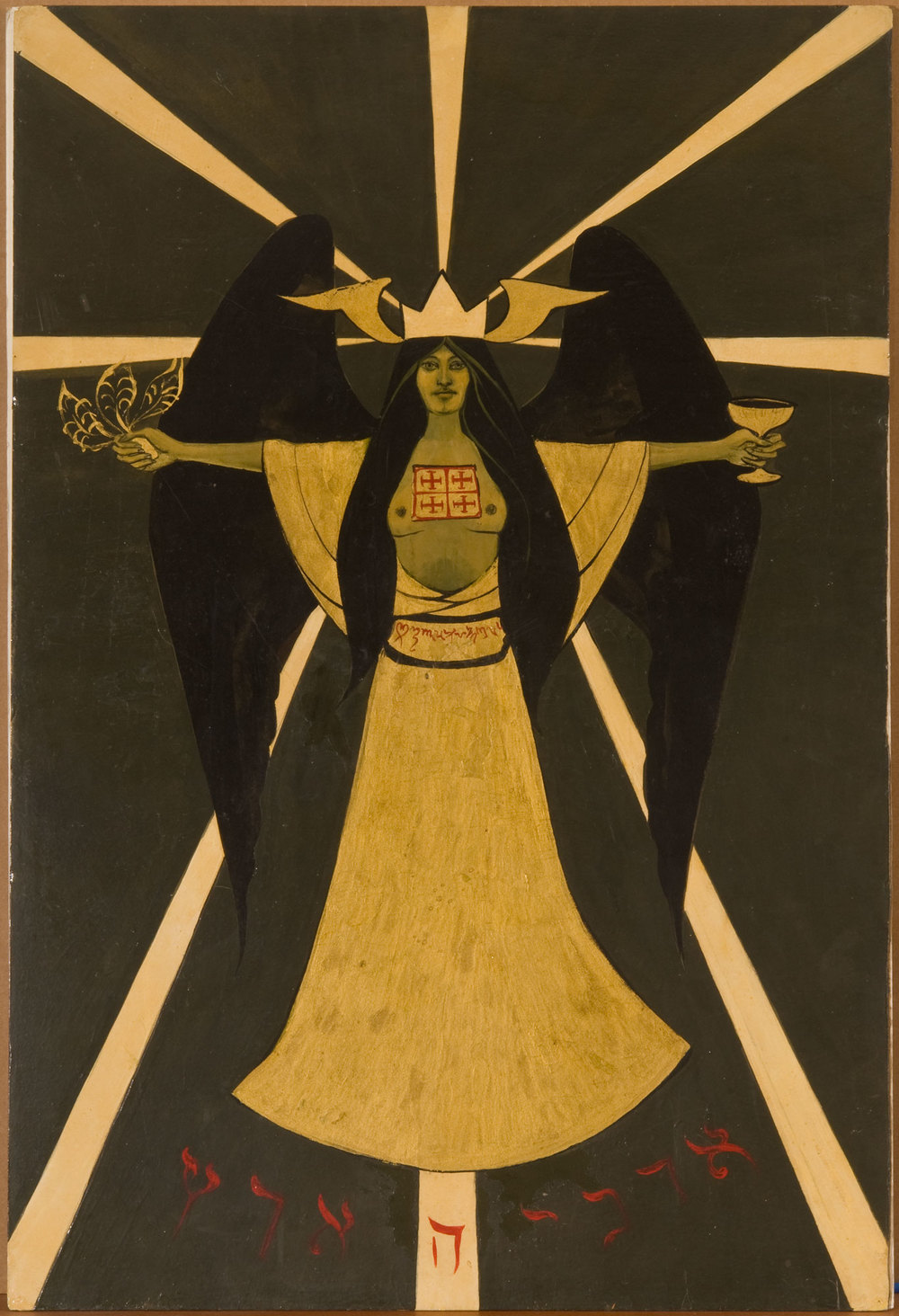 Holy Guardian Angel according to Aleister Crowley , Marjorie Cameron (1966)