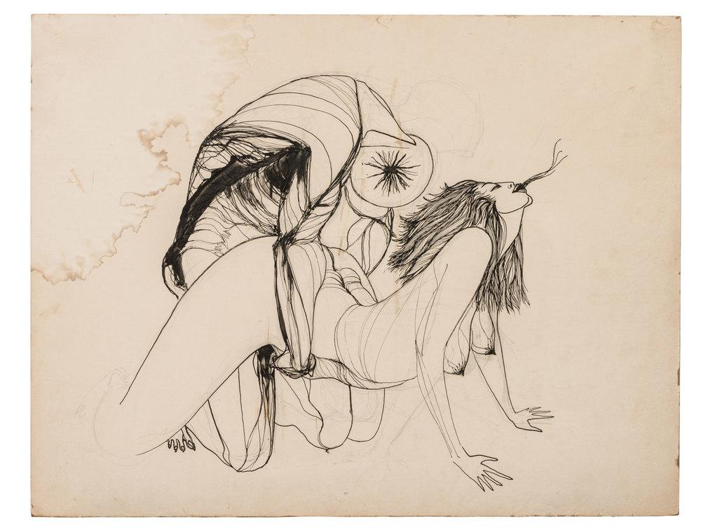 Peyote Vision, Marjorie Cameron (1955)