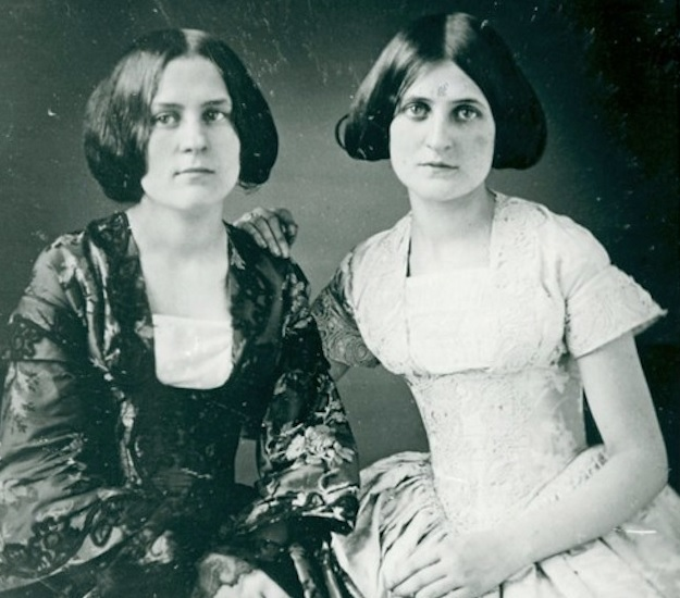 Margaret y Catherine Fox