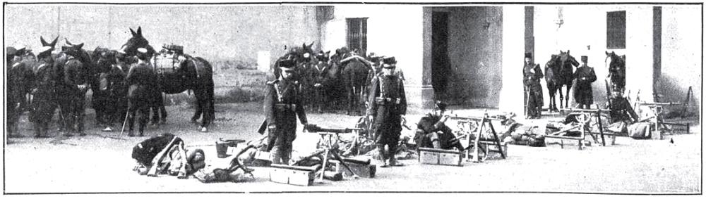 Las ametralladoras toman el centro de Barcelona