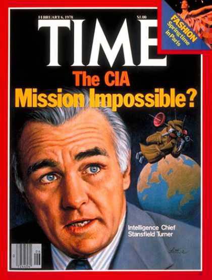 Portada de la revista  TIME  del 6 de febrero de 1978