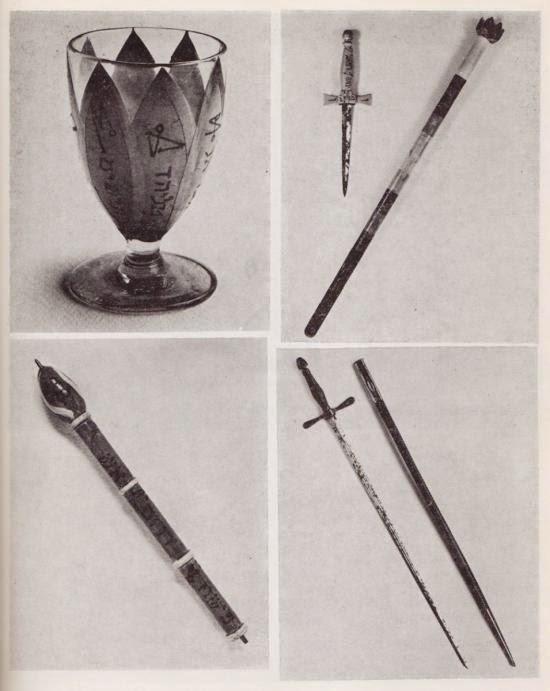 Las armas mágicas del poeta Yeats
