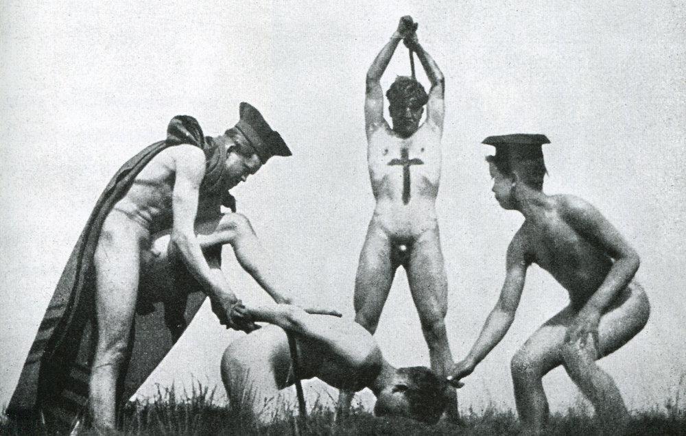 Ritual iniciático de los Wild Boys