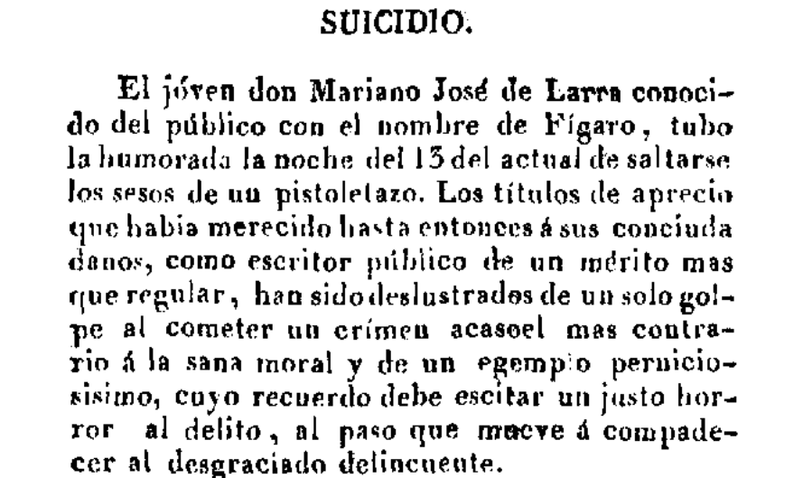 El Mata-moscas , 19 de febrero de 1837