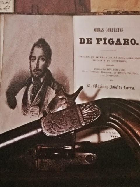 Pistola utilizada por Larra