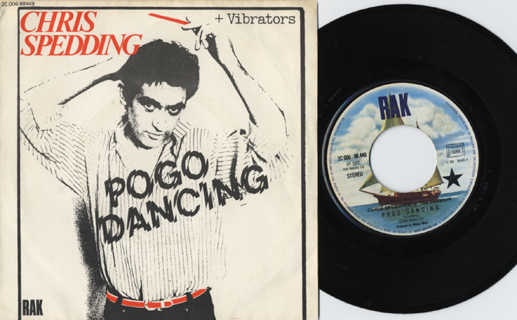 Chris Spedding & The Vibrators, Pogo dancing (EMI, 1976)