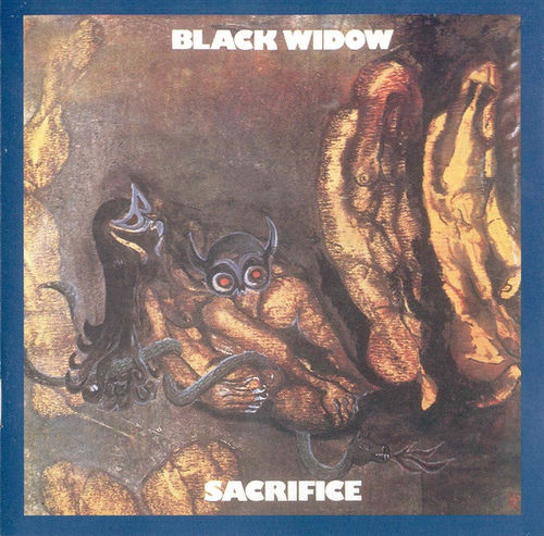 Portada de Sacrifice, primer disco de Black Widow