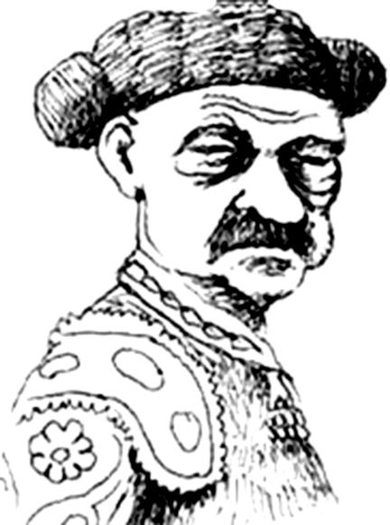 Retrato de Idígoras torero