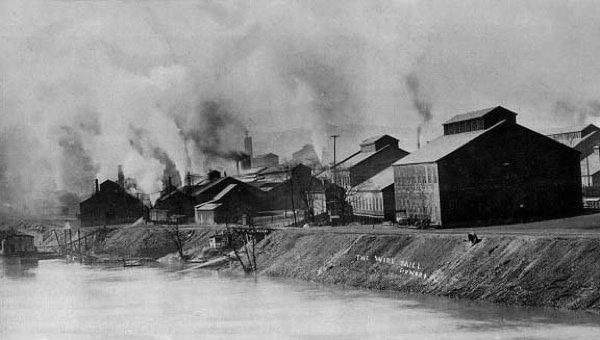 La niebla sobre Liege, Bélgica (1930)