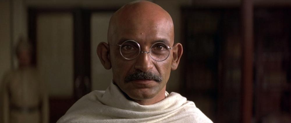 Kingsley como Gandhi