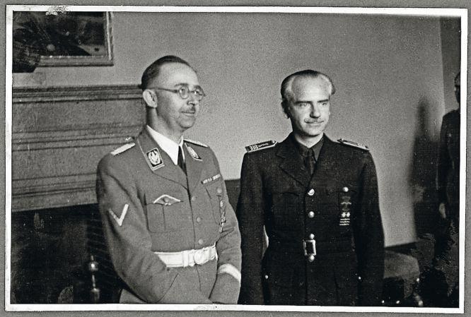 Himmler junto a Suñer