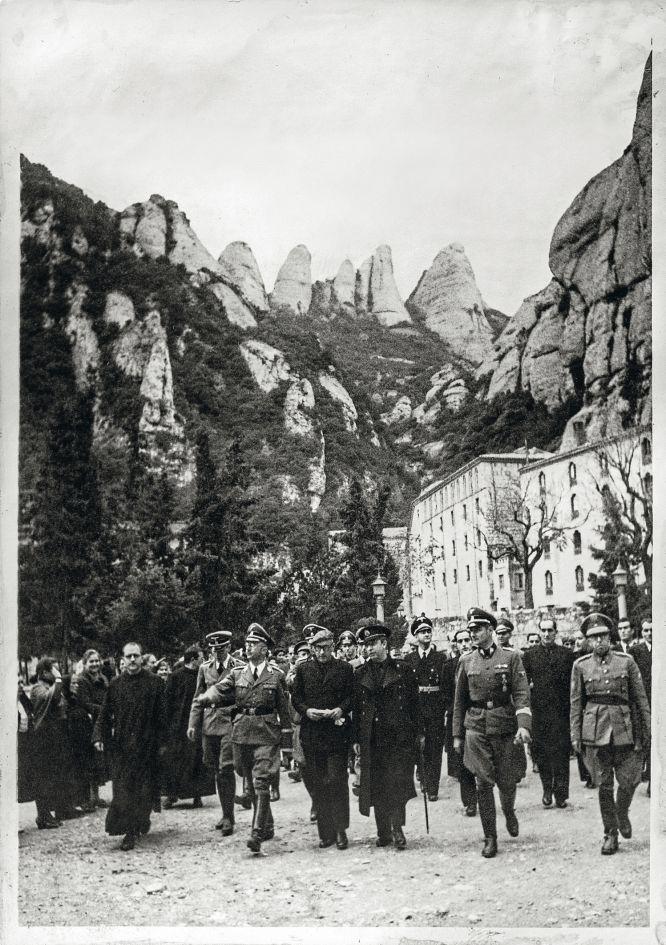 Visita al monasterio de Montserrat