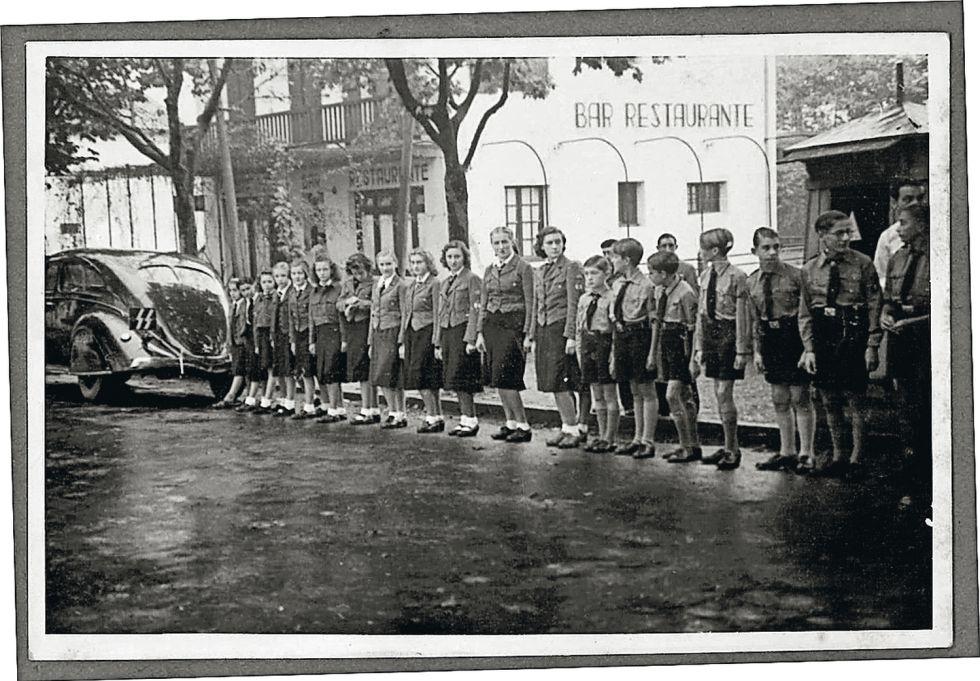 Recibimiento a Himmler en Madrid