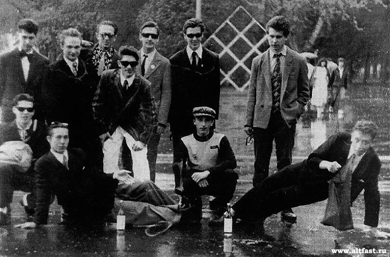 Pandillas de stilyagi soviéticos