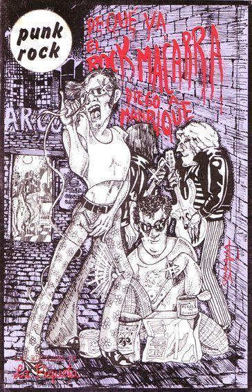 Portada de De qué va el rock macarra (La Piqueta, 1977)