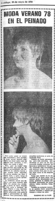 Peinado «punk» (Mediterráneo, mayo de 1978)