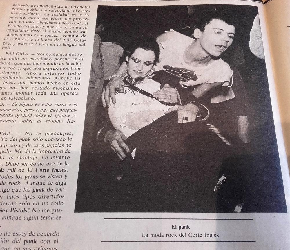Ajoblanco, mayo de 1978.