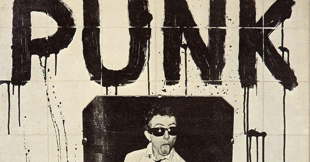 Detalle de la portada del clásico Punk de Salvador Costa