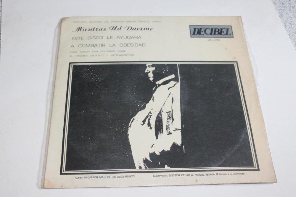 Otro de los discos de Rapallo, en este caso para combatir la obesidad