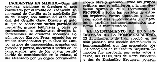 La noticia en el ABC (26 de junio de 1979)