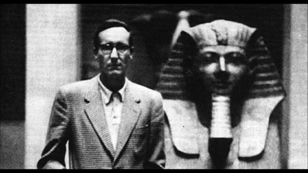 William S. Burroughs en El Cairo