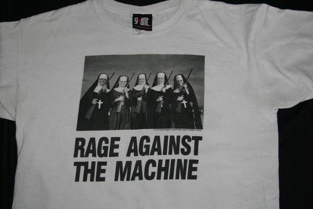 La imagen en la famosa camiseta de Rage Against the Machine