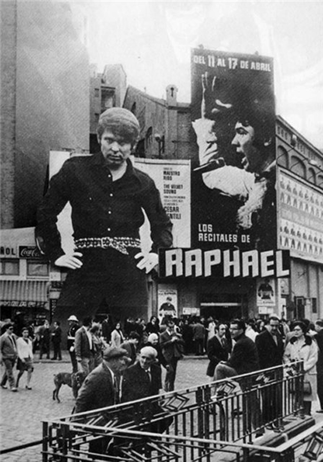 Actuaciones de Raphael en Madrid