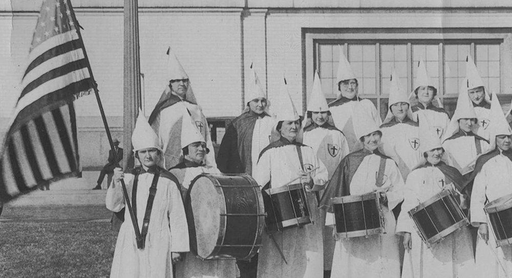Sección del KKK en Dallas, años veinte.