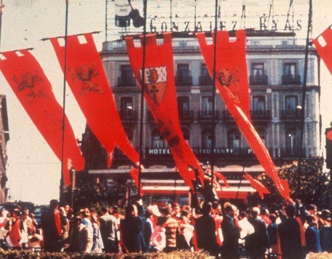 Concentración en la Puerta del Sol. Archivo TFP-Covadonga