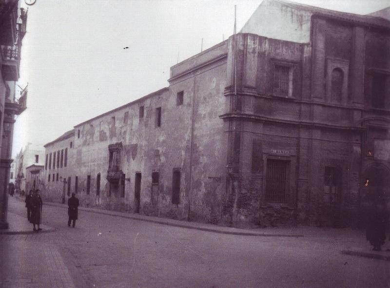Antigua cárcel del Pópulo de Sevilla en la que ingresó Durruti y visitó Baroja. Fotografía tomada en los años treinta
