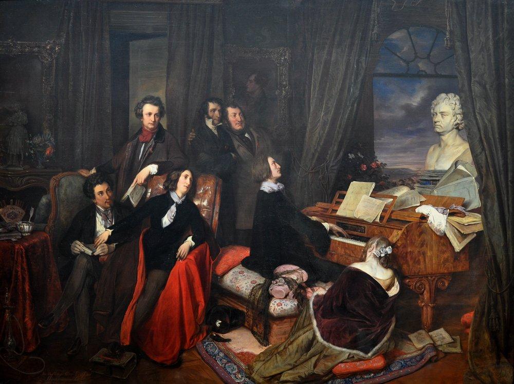 Frank Liszt y la «Lisztomanía»