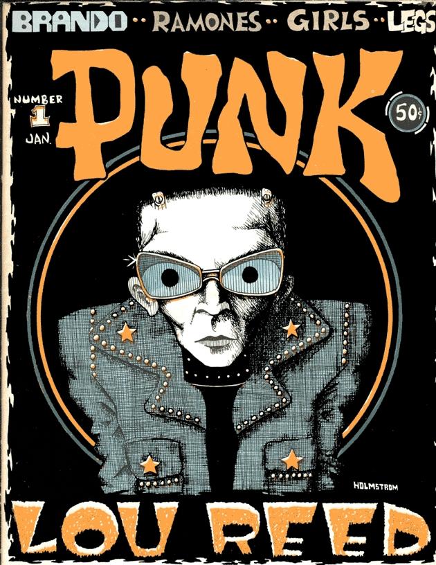 Número 1 del fanzine Punk (enero de 1976)