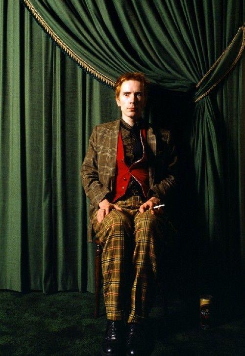 John Lydon. Fotografía de Sheila Rock