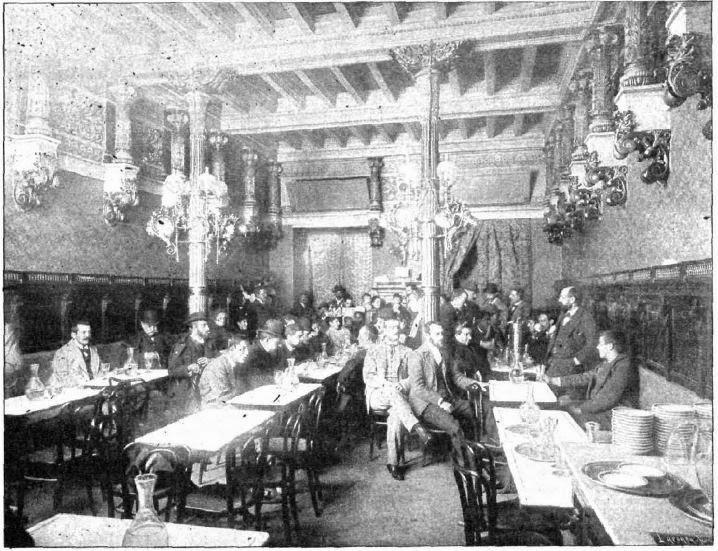 Interior del Café de la Montaña el año de su inauguración (1896). antiguoscafesdemadrid.blogspot.com.es