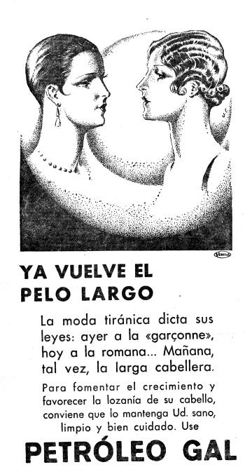 Anuncio publicado en La Voz anunciando el final de la garconne