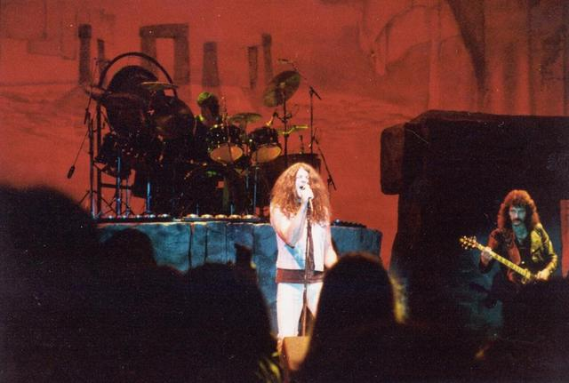 Imágenes de la gira de Black Sabbath de 1983