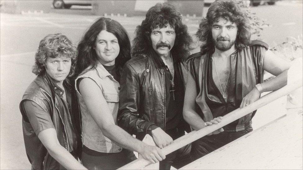 Black Sabbath con Gillan al frente