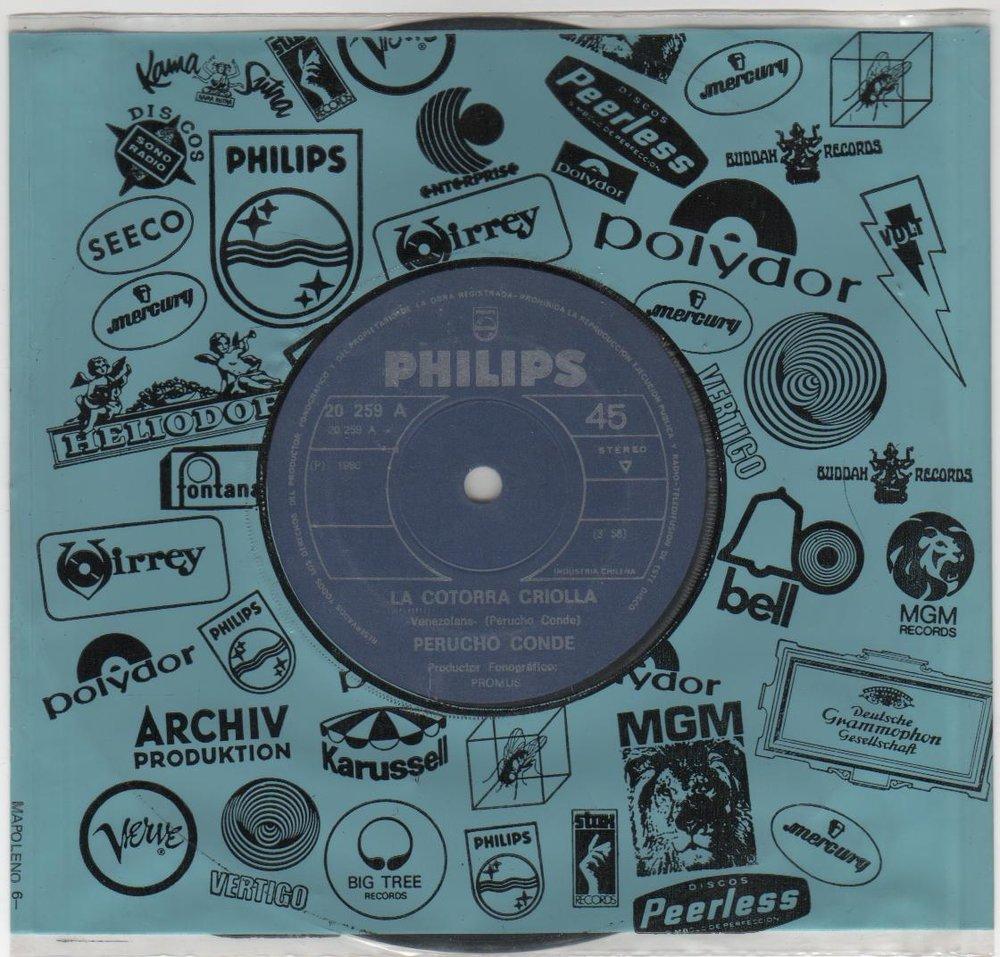 El single de la edición chilena para el sello Philips